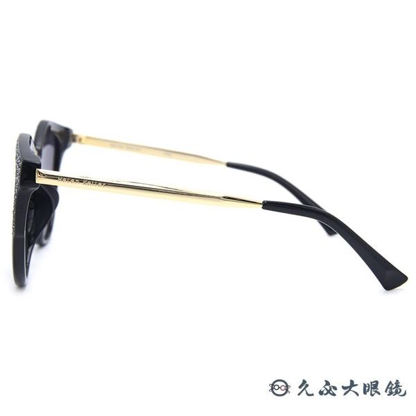 HELEN KELLER 林志玲代言 H8619 TD52 (黑-金) 貓眼 偏光太陽眼鏡 久必大眼鏡