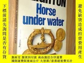 二手書博民逛書店LEN罕見DEIGHTON HORSE UNDER WATERY