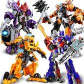 變形玩具金剛5模型汽車機器人大黃蜂恐龍電影手辦合金版兒童男孩