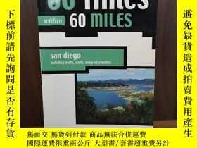 二手書博民逛書店60罕見Hikes Within 60 Miles: San D