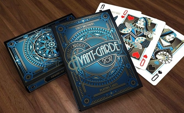 【USPCC撲克】Avant-garde blue playing cards