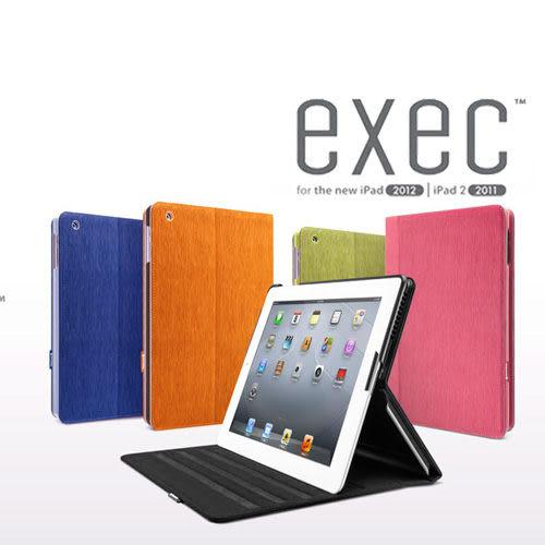 【東西商店】SwitchEasy Exec new iPad/iPad 2水波紋多角度可立保護套