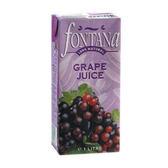 FONTANA100%天然紅葡萄汁1000ml【愛買】