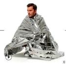 快速出貨 現貨 戶外保溫救生毯 便攜急救毯 保暖防曬太空毯 救生工具應急馬拉鬆越野