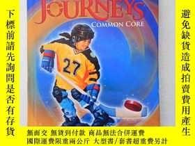 二手書博民逛書店Journeys:罕見Common Core 5 精裝、大16開