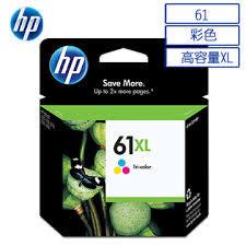HP CH564WA NO.61XL原廠大印量彩色墨水匣 適用j110a/J210a/J310a/J410a/J510a/J610a/DJ2540/OJ4630(原廠品)