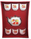 新娘茶具組六入 結婚用品 吃新娘茶 訂婚奉茶【皇家結婚百貨】
