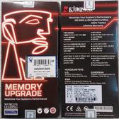 全新 Kingston 桌上型記憶體 8GB/D4/2400 DT ( KVR24N17S8/8 )