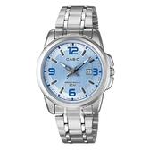 【CASIO】簡約知性女腕錶-藍面(LTP-1314D-2A)