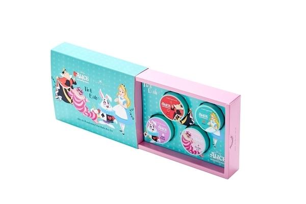 cute press 愛麗絲系列唇膏組 (四色一組)6.5gx4