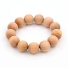 芬多森林 台灣檜木手珠(16mm)13粒,檜木佛珠念珠可批發批貨,結緣商品,團購組合檜木球珠手環