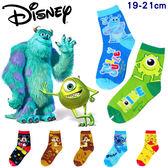 迪士尼 disney 卡通 MIT 台灣製造 1/2童襪 童襪 短襪 19-21cm