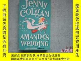 二手書博民逛書店英文原版書罕見JENNY COLGAN AMANDA S WED