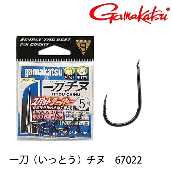 漁拓釣具 GAMAKATSU 一刀チヌ[NS] [黑鯛鉤]