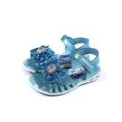 冰雪奇緣 Frozen Elsa Anna 涼鞋 電燈鞋 藍色 中童 FNKT14126 no770