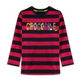 『小鱷魚童裝』多元條紋T恤(02號~06號)532421