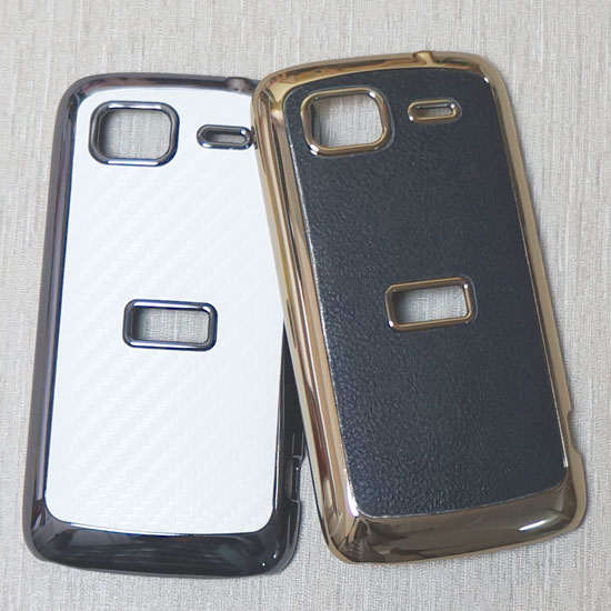 HTC Sensation Pyramid Z710e/Z-710 音浪機/感動機 貼皮加厚電鍍背蓋-荔枝紋系列