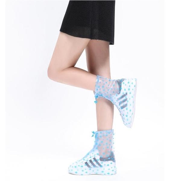 雨鞋套防滑加厚耐磨成人鞋套防水雨天防雨鞋套兒童男女雨鞋套戶外 喵小姐