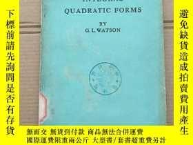 二手書博民逛書店integral罕見quadratic forms(P1383)Y173412