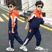 兒童裝男童秋裝套裝2019新款中大童男孩秋款洋氣運動兩件套韓版潮-ifashion