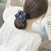 丸子頭花朵盤發器韓國頭飾百變花苞頭扎頭髮盤發造型神器發飾【聖誕節交換禮物】