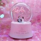 創意櫻花樹水晶球音樂音樂盒送閨蜜生日女生【七月特惠】