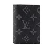 【LV】monogram名片/卡夾(黑灰) M61696