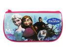 【卡漫城】 冰雪奇緣 化妝包 藍 庫3 ㊣版 艾莎 安娜 Frozen Olaf Elsa Anna 雪寶 萬用包 鉛筆袋