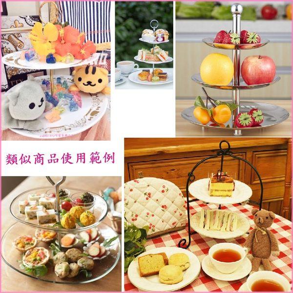 KITTY雙層盤架-不易摔破-過年糖果盒-下午茶.宴會.水果.點心.壽司.蛋糕-日本正版商品