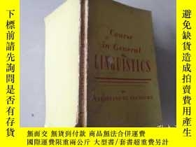 二手書博民逛書店Course罕見in General LINGUISTICSY171502