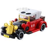 〔小禮堂〕迪士尼 米奇 TOMICA小汽車《紅.古董老爺車》DM-11經典造型值得收藏  4904810-80476