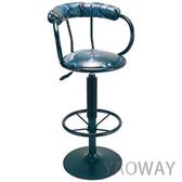 【耀偉】氣壓高吧椅E549-餐椅/會客椅/洽談椅/工作椅/吧檯椅/造型椅/高腳椅/