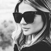 現貨-韓版vintage時尚百搭墨鏡新款復古方框太陽鏡男女百搭大框墨鏡歐美速賣通爆款太陽眼鏡 148