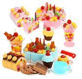 兒童過家家仿真大號生日蛋糕 寶寶切切樂玩具 快速出貨