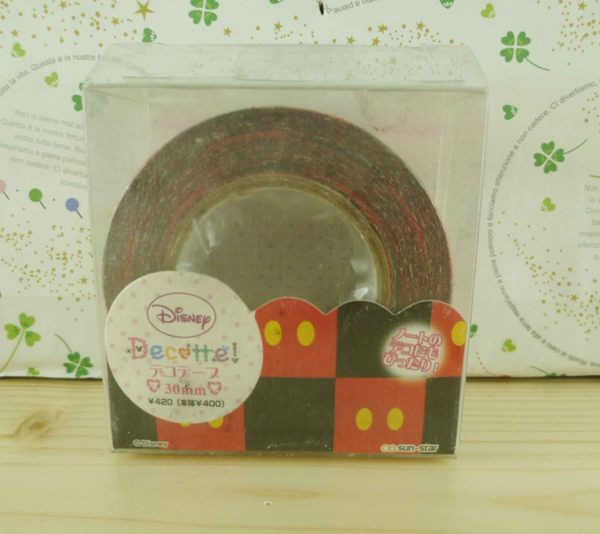 【震撼精品百貨】Micky Mouse_米奇/米妮 ~膠帶-紅黑