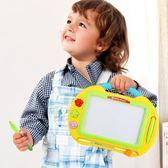 兒童畫板磁性寫字板寶寶家用畫畫板小孩幼兒彩色磁力可涂鴉板【快速出貨八折優惠】