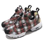 Reebok 休閒鞋 Instapump Fury OG XGIRL 紅 綠 格紋 充氣 女鞋 【ACS】 FY3951