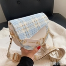 小眾小包包女夏季百搭2021新款潮寬肩帶單肩斜背包/側背包網紅爆款馬鞍包 一米陽光
