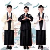 男童和服 日本武士服拍照寫真古裝演出舞臺裝六一演出傳統服裝 DR22857【Rose中大尺碼】