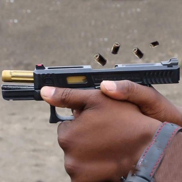 沙漠之鷹手槍式水彈搶玩具成人連發電動玩具搶合金格洛克bb軟彈cs【全館八九折】