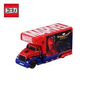 【日本正版】TOMICA T.U.N.E. Mov.1.0 蜘蛛人 宣傳卡車 漫威英雄 Marvel 玩具車 多美小汽車 - 897040