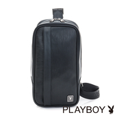 PLAYBOY- 單肩背包 FLOW系列-都會黑