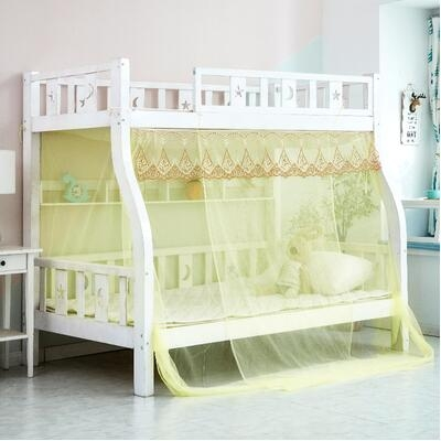 蚊帳 上下床子母床蚊帳加密雙層上下鋪高低梯形床1.2m1.5米1.8家用1.35TW【快速出貨八折搶購】