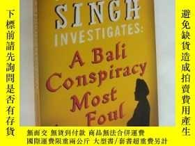 二手書博民逛書店Inspector罕見singh investigates: a Bali conspiracy most fou