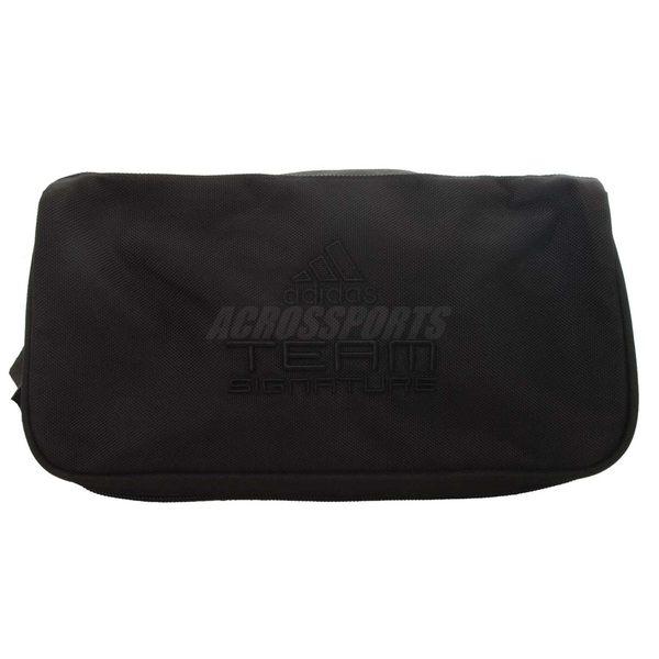 adidas 鞋袋 Team Signature 黑 紅 籃球鞋 慢跑鞋 運動 【PUMP306】 E43514