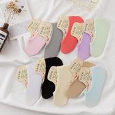 10雙裝防滑硅膠船襪淺口天鵝絨女純色魔術襪子糖果色 均一價299 one shoes