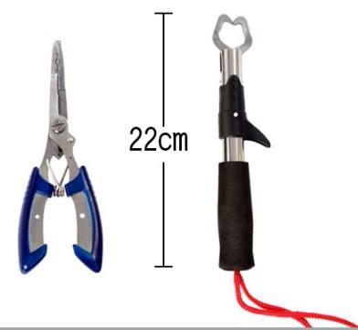 [協貿國際] 不銹鋼路亞鉗子控魚器 3個價