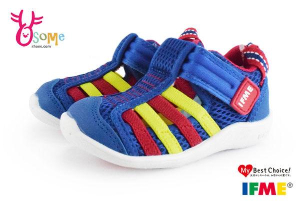 日本IFME水涼鞋 小童 機能運動鞋 涼感 寶寶學步鞋 N7656◆OSOME奧森童鞋