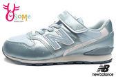 New Balance 996 女童運動鞋 冰雪奇緣-艾莎色系 中童鞋 休閒跑步鞋N8490#水藍◆OSOME奧森童鞋/小朋友