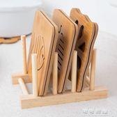 餐桌墊 木質餐墊隔熱墊創意餐桌墊盤子墊子家用防燙墊鍋墊砂鍋墊碗墊杯墊 流行花園